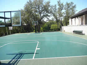 Hoops Austin Basketball Goals And Game Courts Gallery